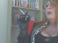 Smoking, Leather, Gloves, Xhamster.com