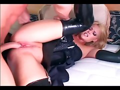 Blonde, Police, Stockings, Xhamster.com