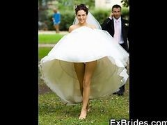 Upskirt, Bride, Wedding, Gotporn.com