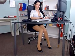 Office, Beauty, Orgasm, Anyporn.com
