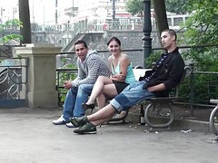Public, Threesome, Outdoor, Xhamster.com