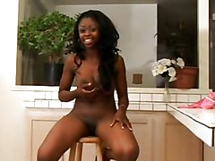 Ebony, Milk, Cumshot, Redtube.com