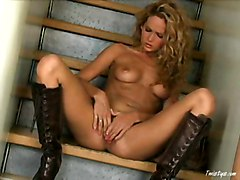 Boots, Babe, Leather, Redtube.com