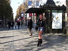 Boots, Babe, Public, Xhamster.com